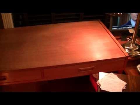 Teak table sanding, oiling