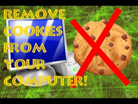How to Completely Remove Cookies from your COMPUTER!! - (Disable, Remove, Clean Up Browser)