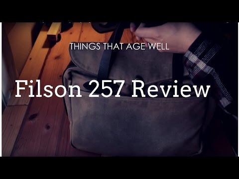 Filson 257 Bag Review -
