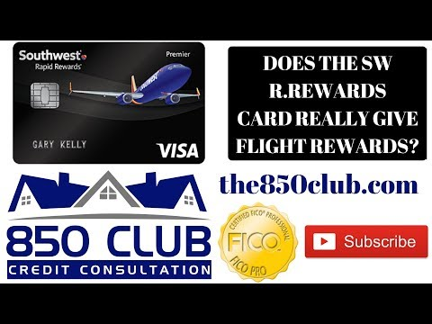Does The Southwest Rapid Rewards From Chase Bank Really Give Flight Rewards?