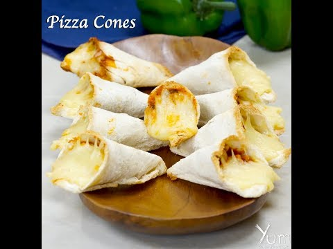 Pizza  Cones | Pizza  Cones recipe