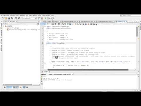 Creating Jar File in Netbeans