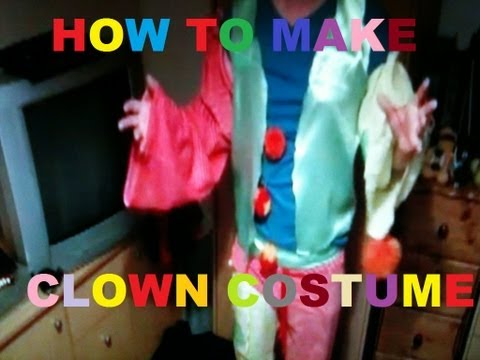 How to make a cheap and easy clown costume