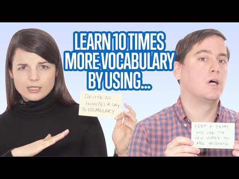 Ways to Remember 10 Times More Vocabulary