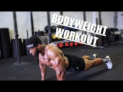 Intense Bodyweight Workout | At Home or outdoors | A Full Body Routine