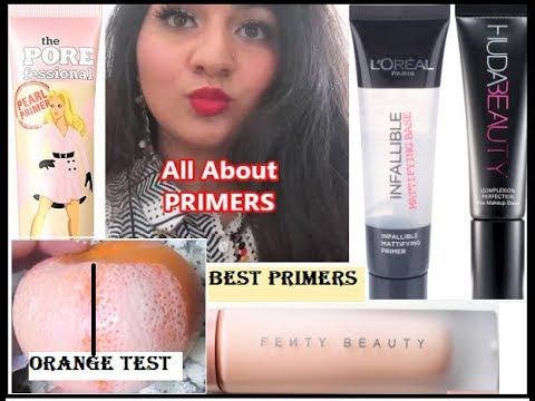 What is primer/All About PRIMERS, Best Primers for Dry & Oily Skin, L'Oreal Infallible Primer Review