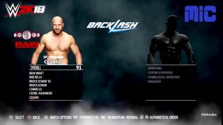WWE 2K18 MAIN ROSTER( SMACKDOWN + RAW) SUPERSTARS FOR PLAYSTATION 4 AND X BOX ONE PREDICTION