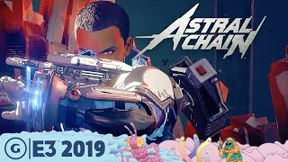 Astral Chain Live Gameplay Demo: The Wildest Action We've Seen   E3 2019