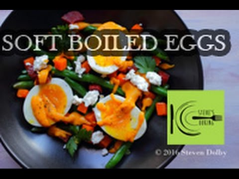 Soft Boiled Eggs with Butternut Squash & Fenugreek Sauce | stevescooking