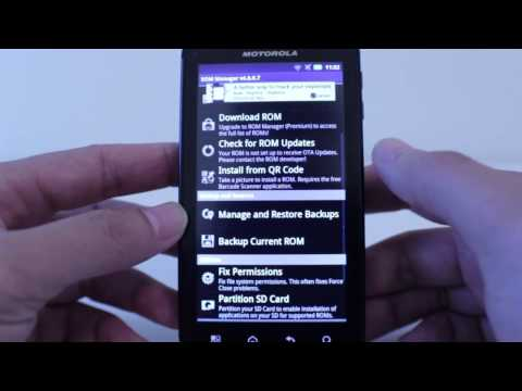 Atrix 4G Rooted Apps, Custom ROM's, and Backing Up