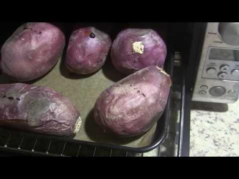 Japanese Sweet Potato, How to Bake