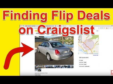 Finding Car Deals on Craigslist - How To Flip Cars