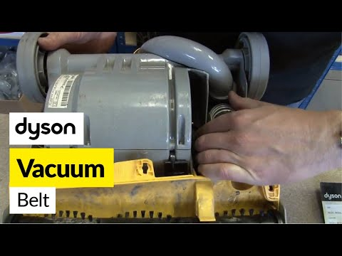 How to replace the Dyson belt on a Dyson DC07 vacuum cleaner