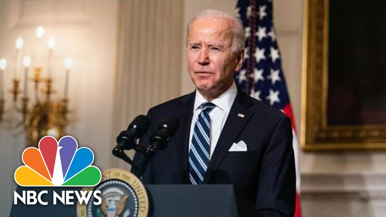 Watch: Biden Announces Withdrawal of U.S. Troops From Afghanistan by Sept. 11   NBC News