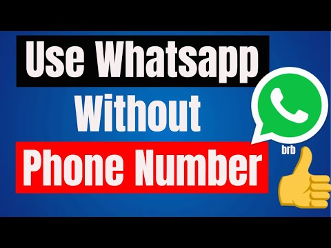 How to Use Whatsapp Without Phone Number 2018 || iPhone || iPad || Computer