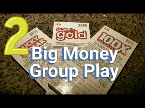 Day 2 - Big Money Group Play - $2,100 in Scratchers