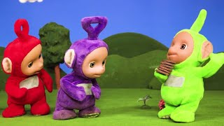 Teletubbies NEW | Flying Food | Teletubbies Stop Motion | Cartoons for Children