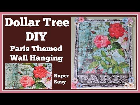 Paris Themed 🤑 Dollar Tree DIY