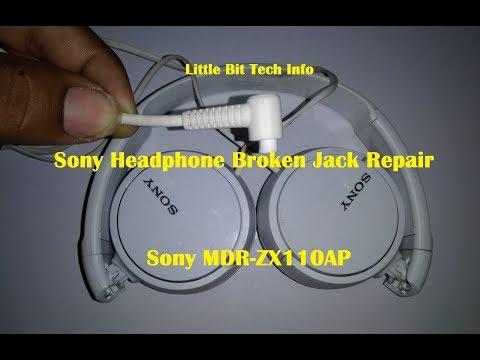 Sony Broken Headphone Jack Repair || Headphone Repair