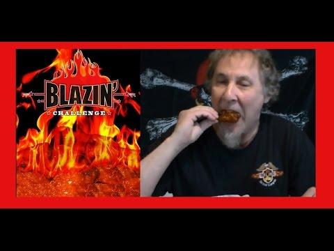 Buffalo Wild Wings BLAZIN Sauce Taste Test and Review