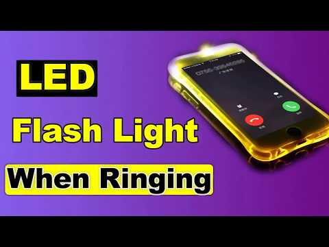 How To Setup LED Flash When Ringing Free (no root)