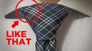 How To Tie A Tie Windsor Knot Easy Trick