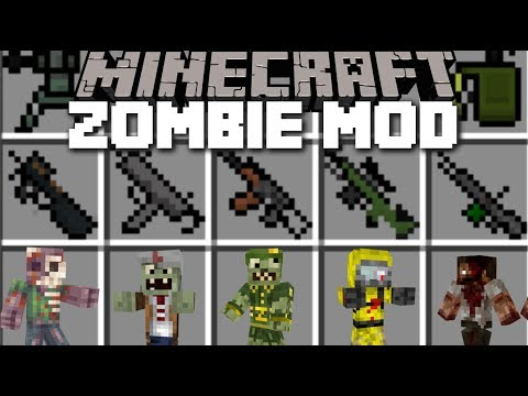 Minecraft ZOMBIE APOCALYPSE MOD / SAVE THE VILLAGERS EDITION!! Minecraft