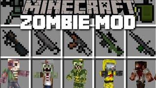 Minecraft ZOMBIE APOCALYPSE MOD / SAVE THE VILLAGERS EDITION!! Minecraft