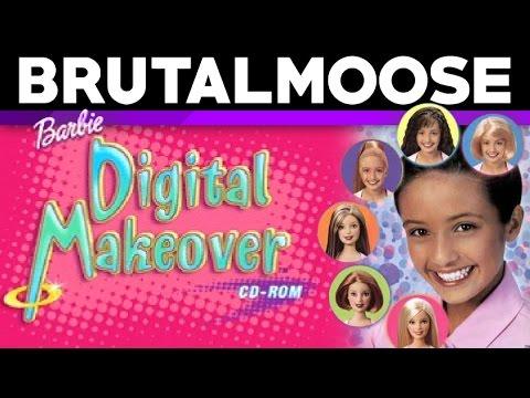 Barbie Digital Makeover - PC Game Review - brutalmoose