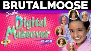 Barbie Digital Makeover - PC Game Review - brutalmoose