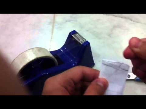 How to Make PAPER WRESTLING THUMB