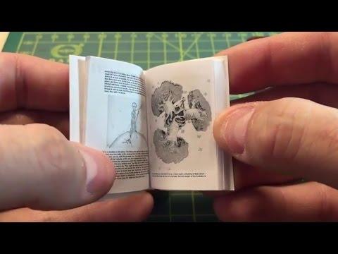 Creating a Miniature Book (PetiteProse.com)