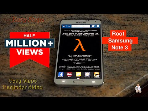 How to Root Samsung Galaxy Note 3 Without Computer | Root With Towelroot