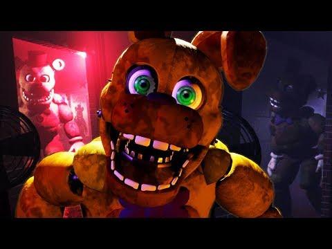 FREDBEAR AND SPRING BONNIE ATTACK   Final Nights 4 (FREE ROAM Five Nights at Freddys)