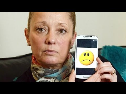 Sad face: EE sends mother £1,200 mobile phone bill because she sent smiley symbols