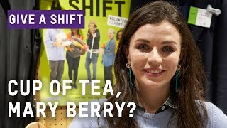 Aisling Bea Gives A Shift | Oxfam GB