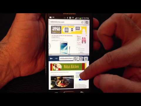 Samsung Galaxy S4 Tip 5: Multiwindow