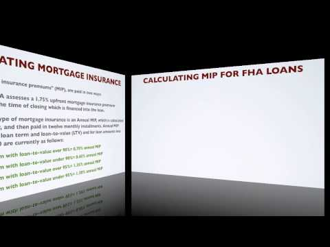 How Do You Calculate FHA Mortgage Insurance Premiums?