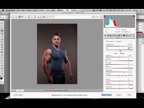 Adobe Photoshop: White Balance Picker in Camera RAW
