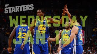Download NBA Daily Show: Jan. 16 - The Starters Video