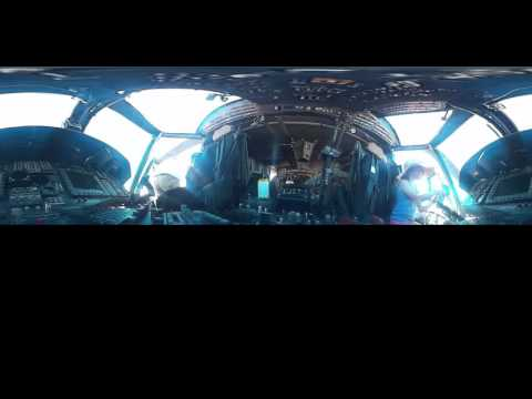 360 Video - In the cockpit