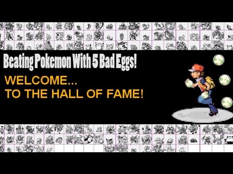 Beating Pokemon With 5 Bad Eggs (Fire Red/Leaf Green)