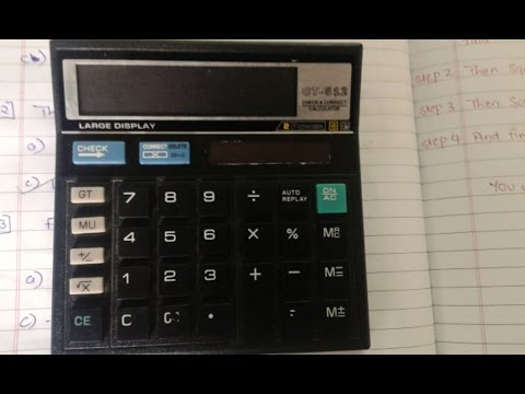 How To Find Log Value On A Basic Calculator