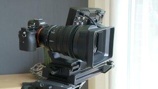 Sony FE PZ 28-135mm f/4 G OSS Lens & Sony Alpha 7S