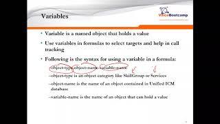 VoiceBootcamp - Cisco UCCE Adv Scripting Lab 14 - Faisal Khan
