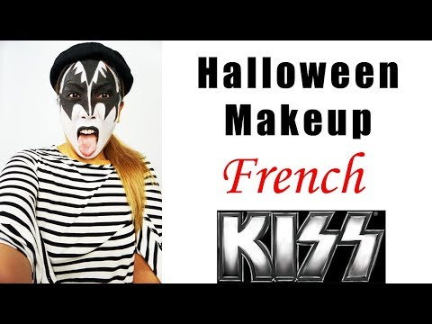Easy & Last Minute Halloween Costume - French Kiss
