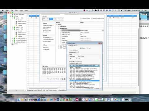Creating Spirent TestCenter UDP/RTP w/ QoS Streams for Testing