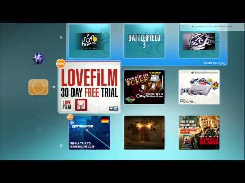 Lovefilm til PS3 ? - Set i mit XMB