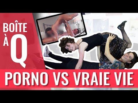 Xxx Mp4 PORNO VS VRAIE VIE La Boîte à Q Feat Charlie 3gp Sex