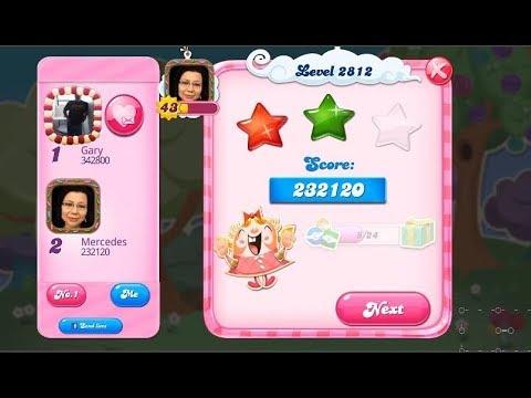 Candy Crush Saga 2812   |   2-Star ⭐⭐   |   ONE TRY